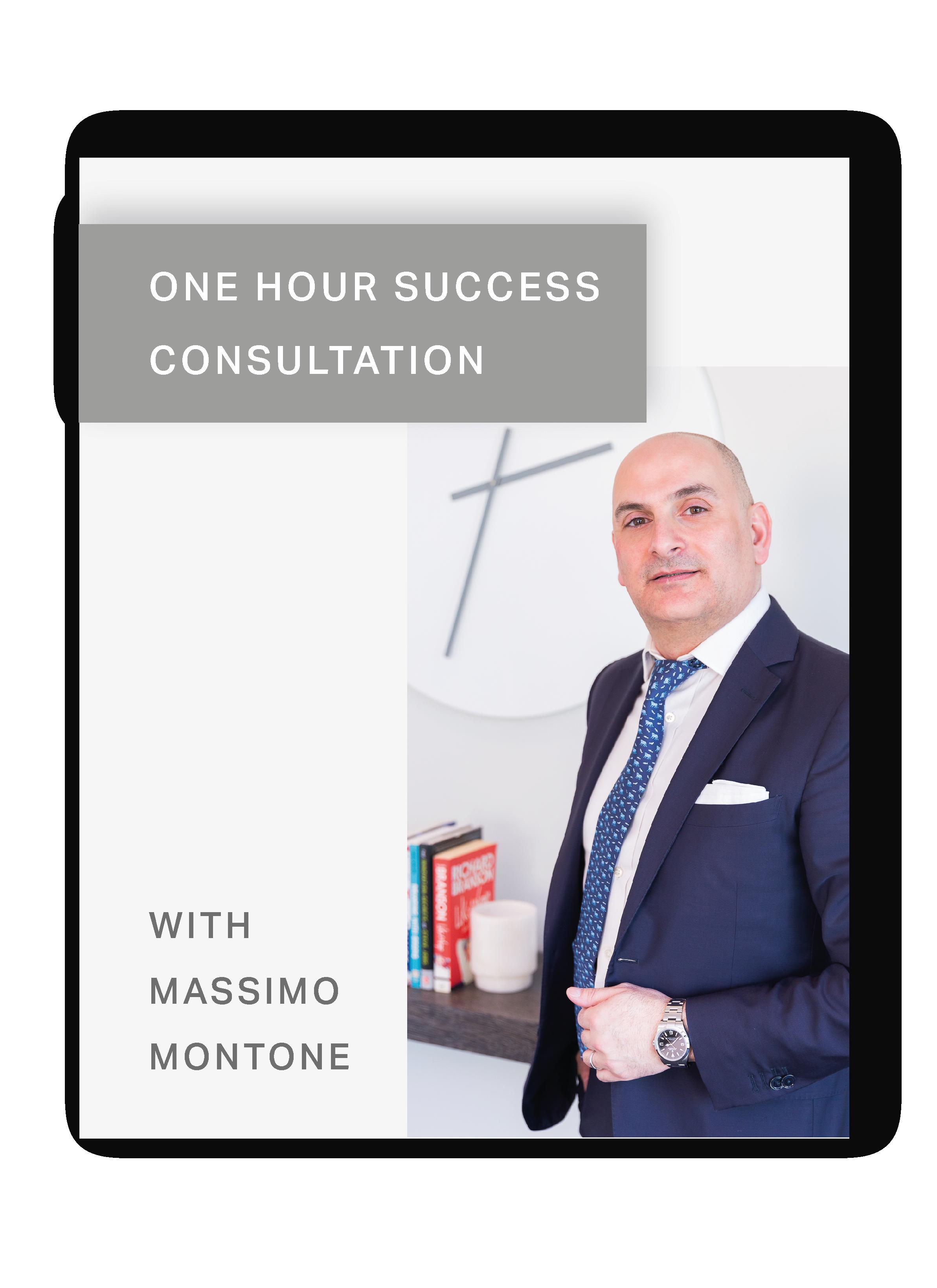 One Hour Consultation with Massimo Montone | Restaurant Keys