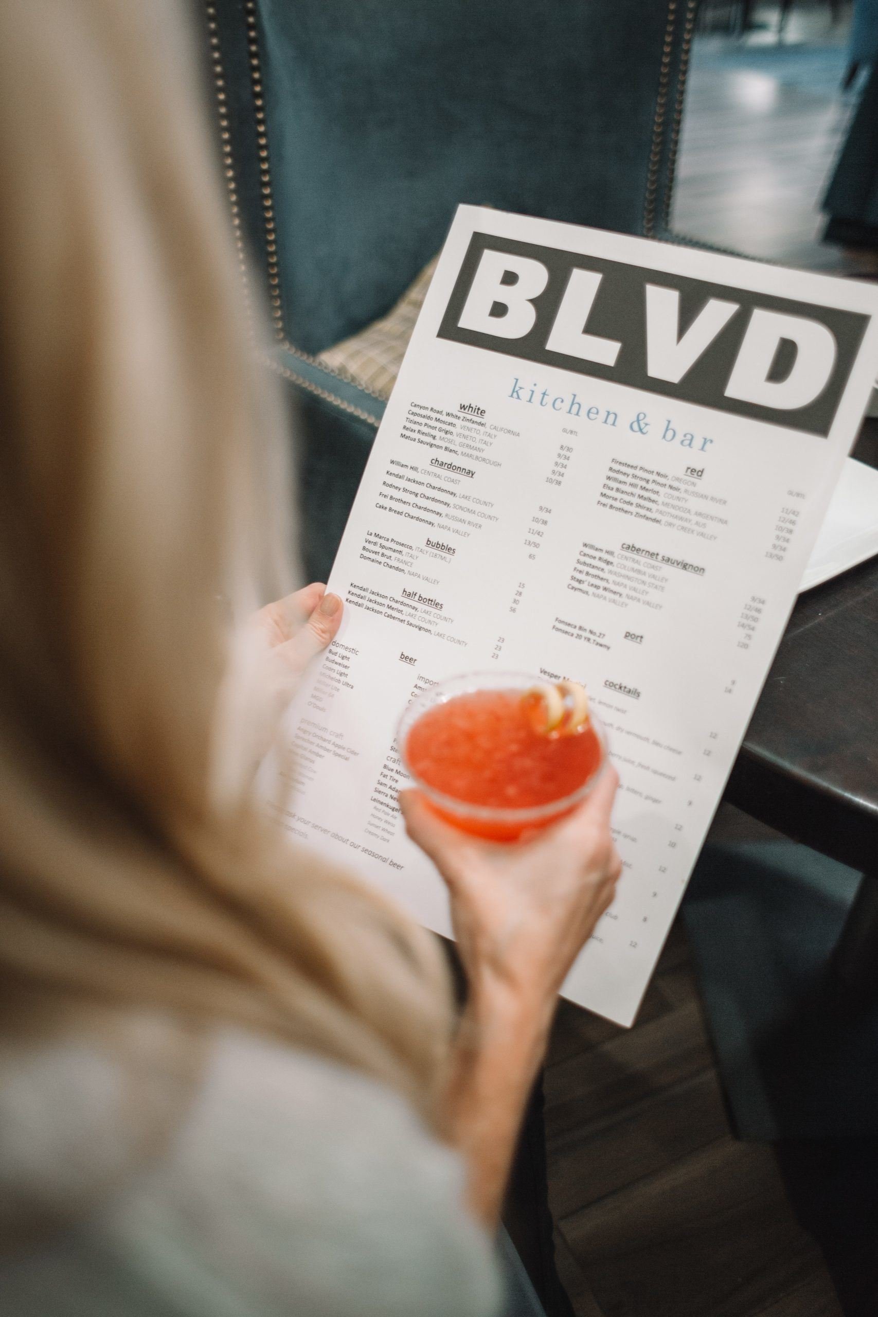 An awesome restaurant menu helps you to make the best first impression